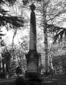 1800's grave monument